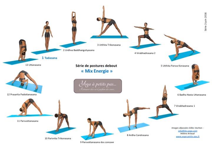 Série 2 Postures Debout Mix Energie