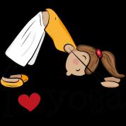 i-love-yoga-j-aime-le-yoga-fille-pratiquant-le